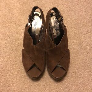 Guess brand heels. Size 5